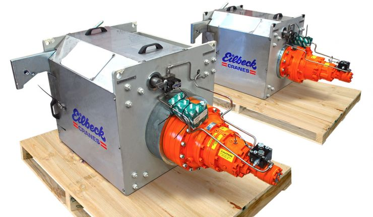 Maintenance Winches - Bechtel's Amrun Project